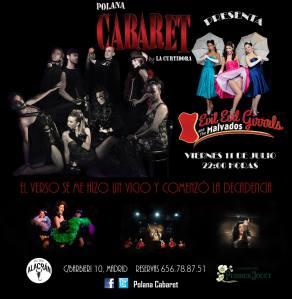 Cartel Polana Cabaret